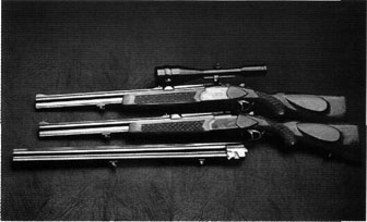 Frankonia /Brunner 500 BBF combination gun