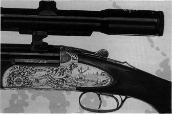 Angela Zoli Airone combination gun